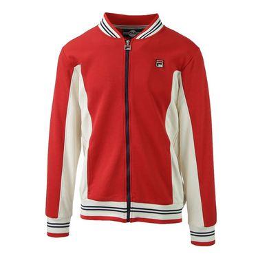 Fila Heritage Settanta Jacket - Chinese Red/Gardenia/Navy