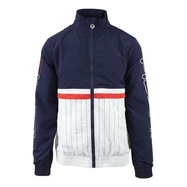Fila Heritage Primo Jacket - Peacoat/White/Chinese Red
