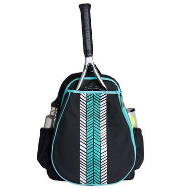 Ame & Lulu Love All Aqua Shutters Tennis Backpack
