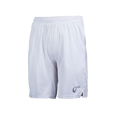 Athletic DNA Mesh Panel Short - White