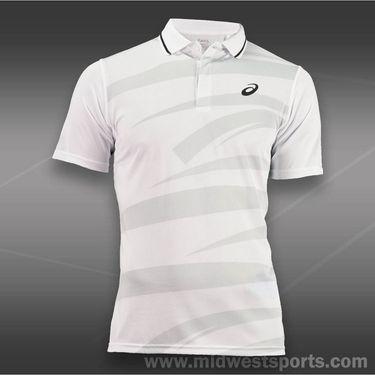 Asics Graphic Polo-White