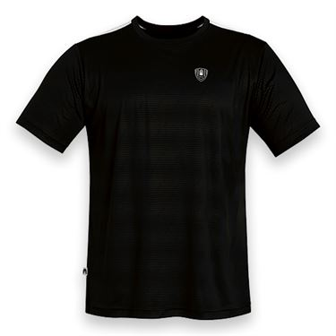 DUC Traction Tennis Crew - Black/White