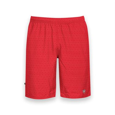 DUC Diamond Daze Printed Tennis Short - Red