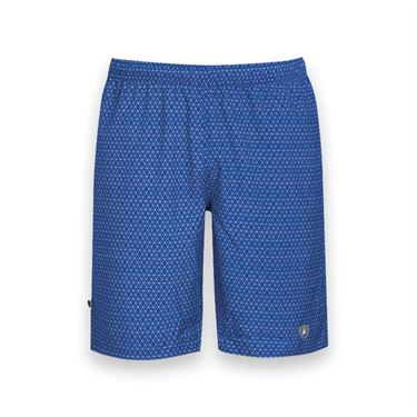DUC Diamond Daze Printed Tennis Short - Royal Blue