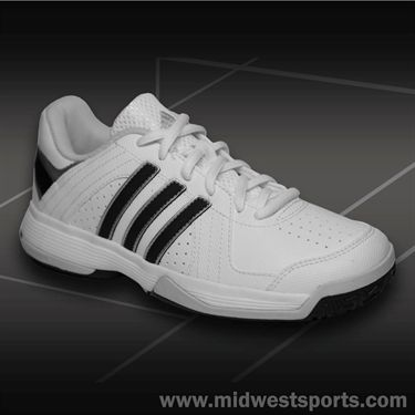 adidas Reponse Approach Junior Tennis Shoe-White/Black/Cool Grey, M17581
