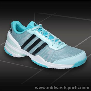 adidas CC Rally Comp Womens Tennis Shoes-Mint/Black