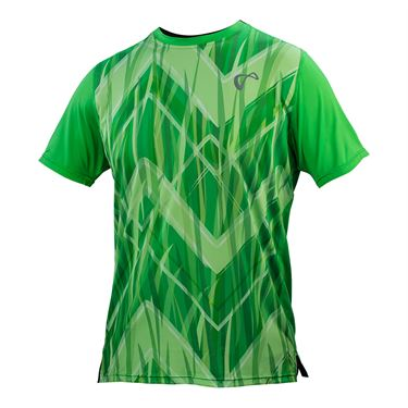 Athletic DNA Mesh Back Match Crew - Up and Down/Mint