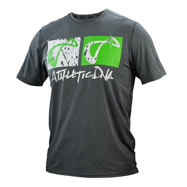 Athletic DNA Graphic Tee - Positive Grey