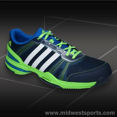 adidas CC Rally Comp Mens Tennis Shoe-Navy/White/Blue