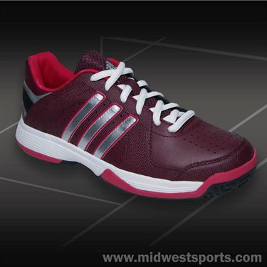 adidas Reponse Approach Junior Tennis Shoe-Red/Silver/Pink, M25431