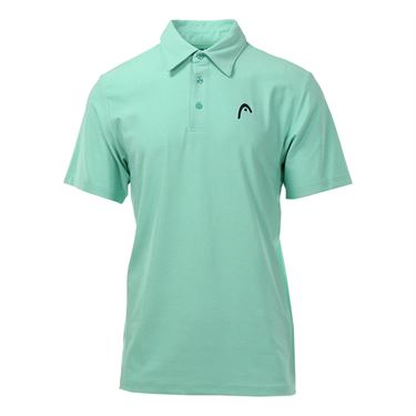 Head Protocol Polo - Mint Heather