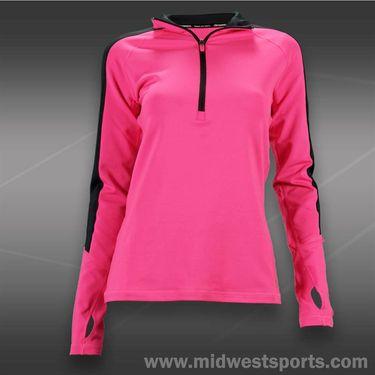 adidas Techfit CW Half Zip-Solar Pink