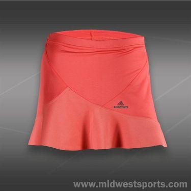 adidas Girls Stella McCartney Skirt- Poppy Pink/Metallic