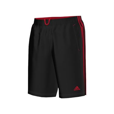 adidas Essential Short - Black/Scarlet