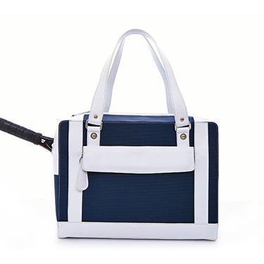 Cortiglia Marina Blu Marino/Bianco Tennis Bag