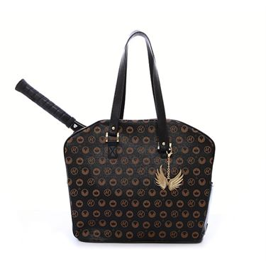 Cortiglia Marion Black Royal Tennis Bag