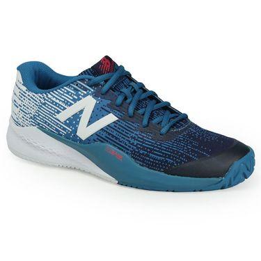 New Balance MC996LP3 (D) Mens Tennis Shoe - Lake Blue/Pigment
