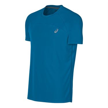 Asics Favorite Short Sleeve Crew - Thunder Blue