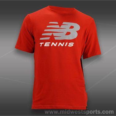 New Balance Tennis T-Shirt-Red