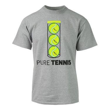 Pure Tennis Ball Can T-Shirt - Grey Heather