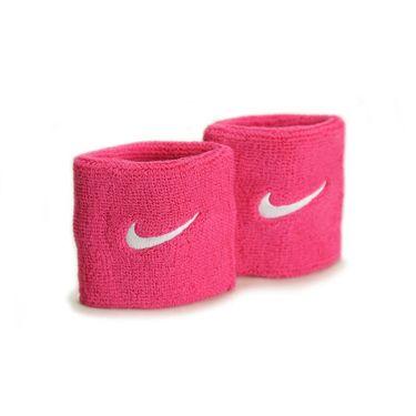 Nike Swoosh Wristband - Vivid Pink/White