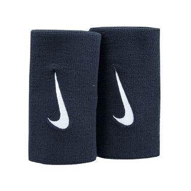 Nike Premier Doublewide Wristbands - Black/White