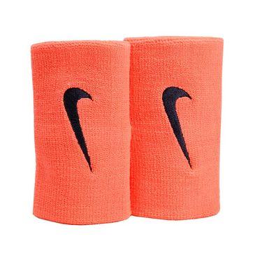 Nike Tennis Premier Doublewide Wristband - Bright Mango/Purple Dynasty
