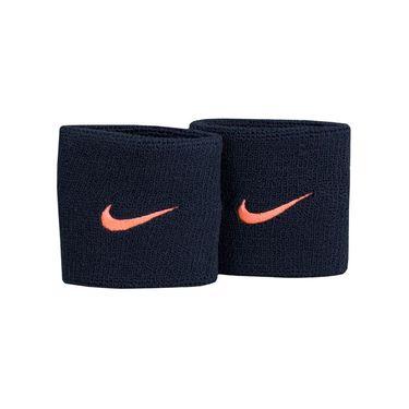 Nike Tennis Premier Wristbands - Black/Lava Glow