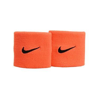 Nike Tennis Premier Wristband - Bright Mango/Black