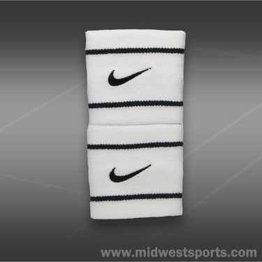 Nike Dri-FIT Wristband-White/Black
