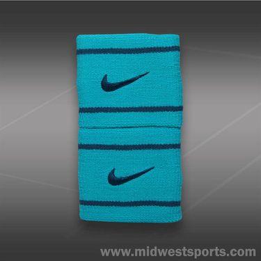 Nike Dri Fit Wristband-Hyper Jade/Space Blue