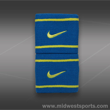 Nike Dri-FIT Wristband-Military Blue