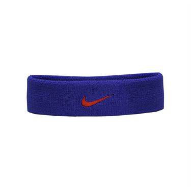 Nike Dri Fit Headband 2.0 - Paramount Blue/Max Orange