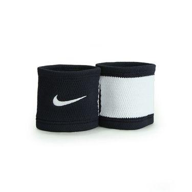 Nike Dri Fit Stealth Wristband - Black/White