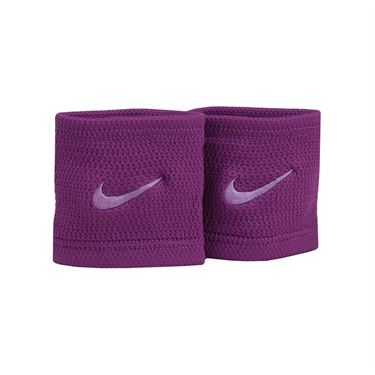 Nike Dri Fit Stealth Wristbands - Bold Berry/Night Purple/Purple Stardust