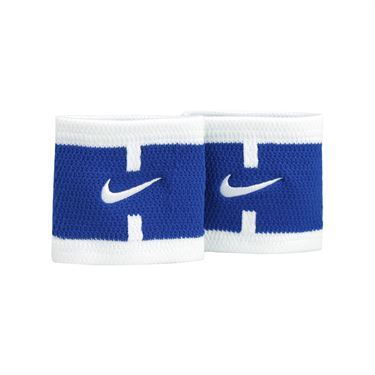 Nike Court Logo Wristbands - Blue Jay/White