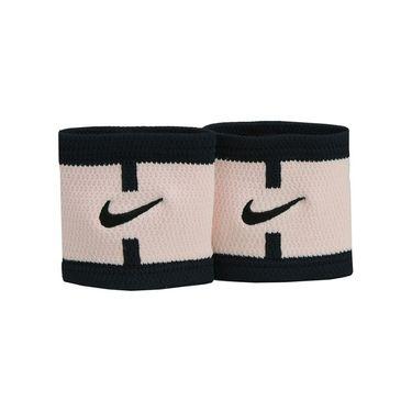 Nike Court Logo Wristbands - Sunset Tint/Black