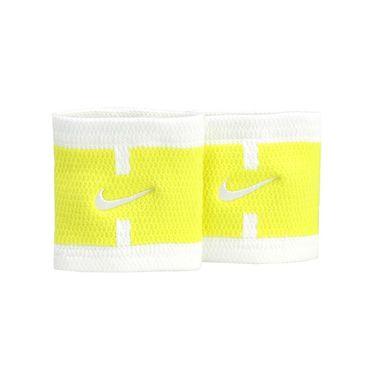 Nike Court Logo Wristbands - Sonic Yellow/White