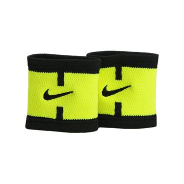 Nike Dri Fit Court Logo Wristband - Volt/Black