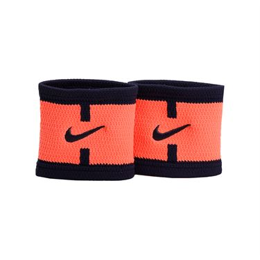 Nike Dri Fit Court Logo Wristband - Bright Mango/Purple Dynasty