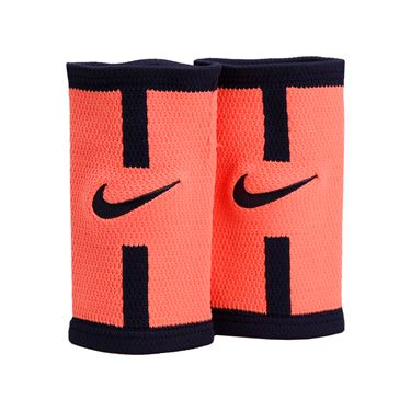 Nike Dri Fit Court Logo Doublewide Wristband - Bright Mango/Purple Dynasty