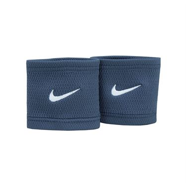 Nike Core Stealth Wristbands - Thunder Blue/White