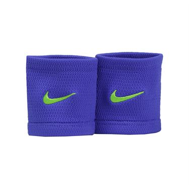 Nike Core Stealth Wristbands - Paramount Blue/Ghost Green