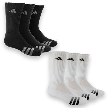 adidas Cushion 3 Pack Crew Sock