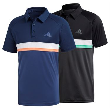 adidas Club Color Block Polo