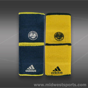 Adidas Roland Garros Double Wide Wristband