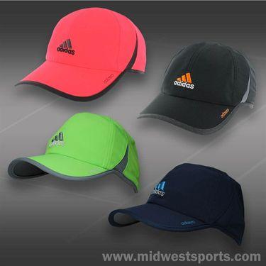 adidas Mens adizero II Hat- Black/Heather Grey/Solar Gold