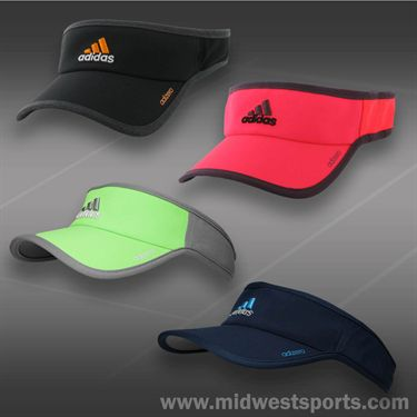 adidas Mens adizero II Visor-Black/Solar Gold/Heather Grey