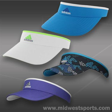 adidas Womens Match Visor-Power Purple/White