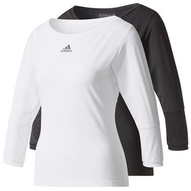 adidas London Line 3/4 Sleeve Top